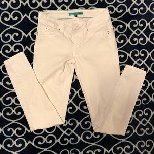 YMI white skinny jeans